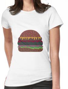 Hamburger  Womens Fitted T-Shirt