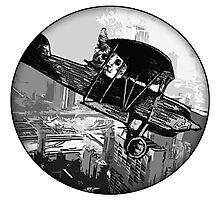 Pilot Cat Photographic Print