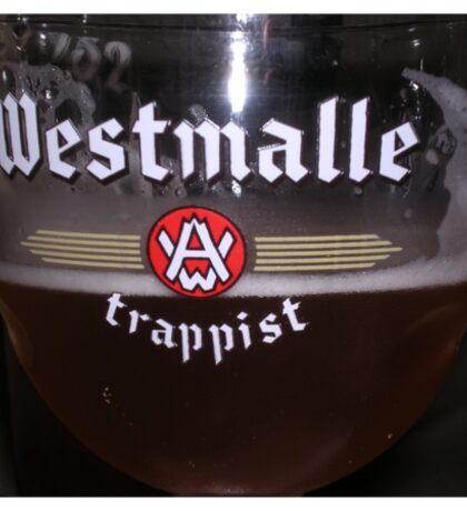 Westmalle Trappist Beer in Glass Sticker