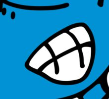 Blue Dog is angry Sticker