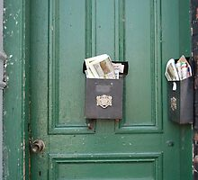 Two Mailboxes by Kathleen Brant