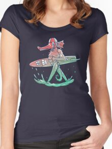 Gnarly Seashorse Women's Fitted Scoop T-Shirt