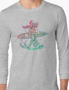 Gnarly Seashorse Long Sleeve T-Shirt