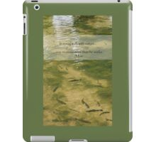 Every Walk With Nature iPad Case/Skin