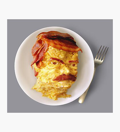 All the Bacon and Eggs Photographic Print