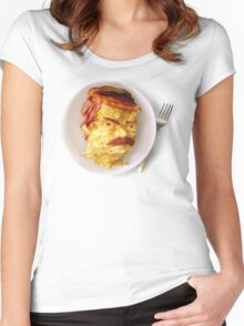 All the Bacon and Eggs Women's Fitted Scoop T-Shirt