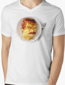 All the Bacon and Eggs Mens V-Neck T-Shirt