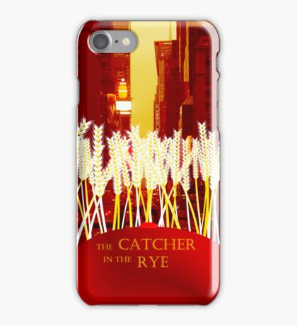 Holden, the Rye, and NYC iPhone Case/Skin