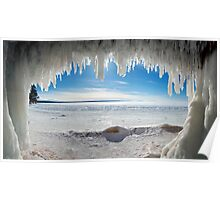 Jaws of Winter, Lake Superior Poster