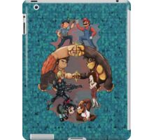 Wreck it Ralph and Mario mash-up iPad Case/Skin