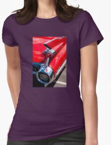 Cadillac tshirt Womens Fitted T-Shirt
