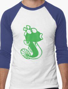Female Cute Fish Men's Baseball ¾ T-Shirt