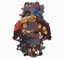 Wreck it Ralph and Mario mash-up Kids Clothes