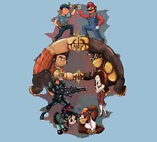 Wreck it Ralph and Mario mash-up Unisex T-Shirt