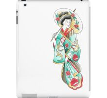 Geisha lady  iPad Case/Skin