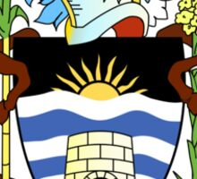 Antigua and Barbuda Coat of Arms  Sticker