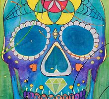 The Universal Sugar Skull #83 by Nick Gibson