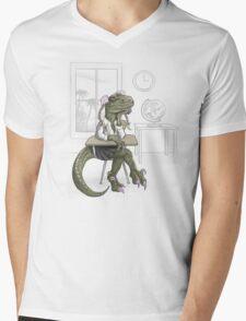 Clever Gurl Mens V-Neck T-Shirt