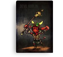 Devil Goblin Canvas Print