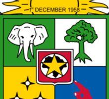 Emblem of Central African Republic Sticker