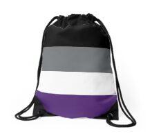 Asexual Pride Flag Drawstring Bag