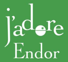 J'adore Endor - White by pixelsbynumber