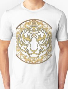 Gold tiger print T-Shirt