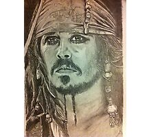 Johnny Depp - Pirates of the Caribbean Photographic Print