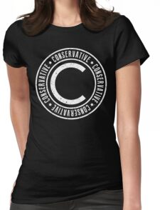 Conservative Womens Fitted T-Shirt