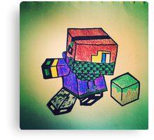 MineCraft KID Canvas Print