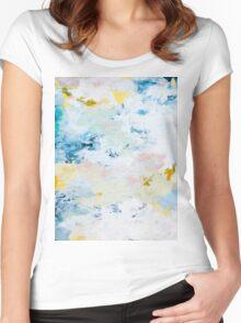 Pura White Women's Fitted Scoop T-Shirt