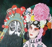 Beijing  Opera Characters by Joseph Barbara