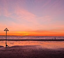 West Wittering Sunset by Paul Hutchinson