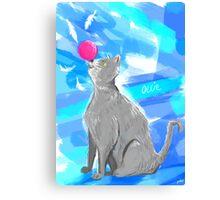 Cat Painting pt4 Canvas Print