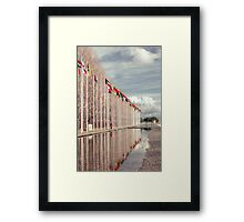 All the nations together Framed Print