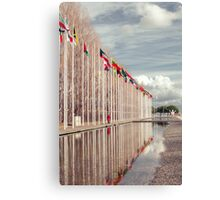 All the nations together Canvas Print
