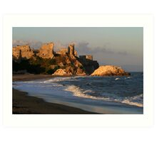 Mamure Castle in Anamur Art Print