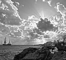 SPRIT OF BERMUDA CADET TRAINING VESSEL.. by buddybetsy