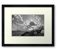 SPRIT OF BERMUDA CADET TRAINING VESSEL.. Framed Print