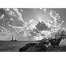 SPRIT OF BERMUDA CADET TRAINING VESSEL.. Photographic Print