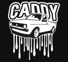VW Caddy mk1 pick up dub retro car  by lowgrader