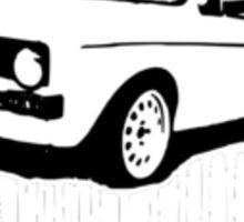 VW Caddy mk1 pick up dub retro car  Sticker