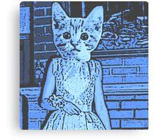 Prom Cat Canvas Print