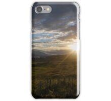 Ireland field sunset iPhone Case/Skin
