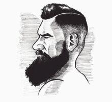 Kenny Brain - Bearded War Lord T-Shirt