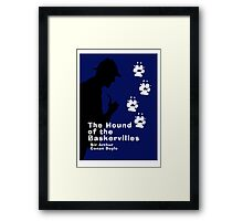 The Hound of the Baskervilles Book Cover Framed Print