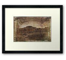 Wine Farm - Radda in Chianti Framed Print