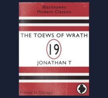 Toews Of Wrath Book Cover One Piece - Short Sleeve