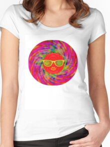 the big bang theory Women's Fitted Scoop T-Shirt