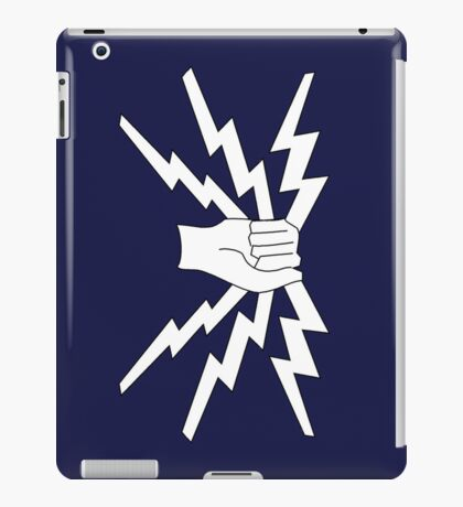 RAF Fist and Sparks badge iPad cover iPad Case/Skin